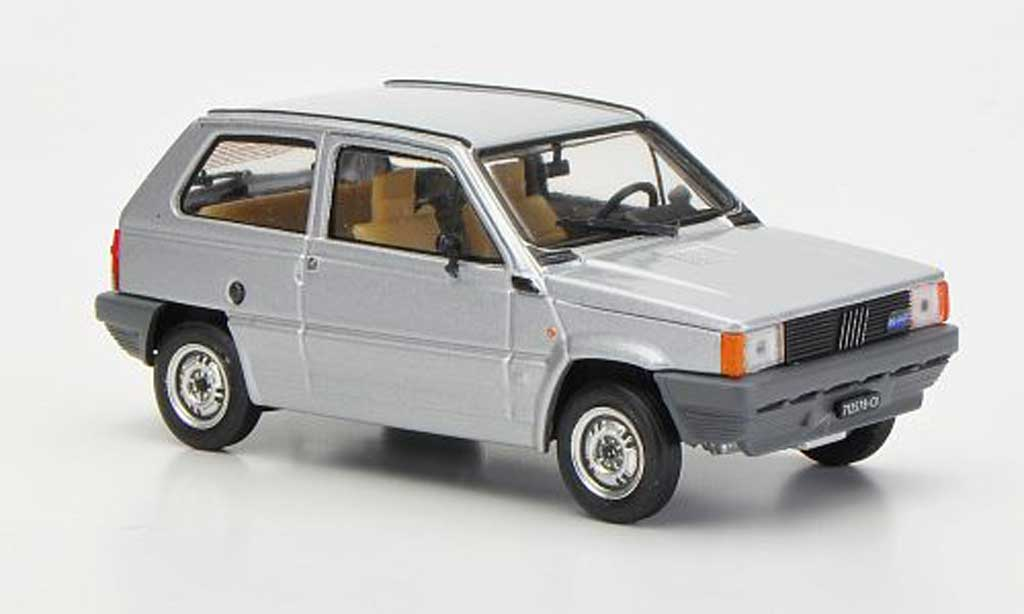 Fiat Panda 1/43 Brumm 30S greygrey 1982 diecast model cars
