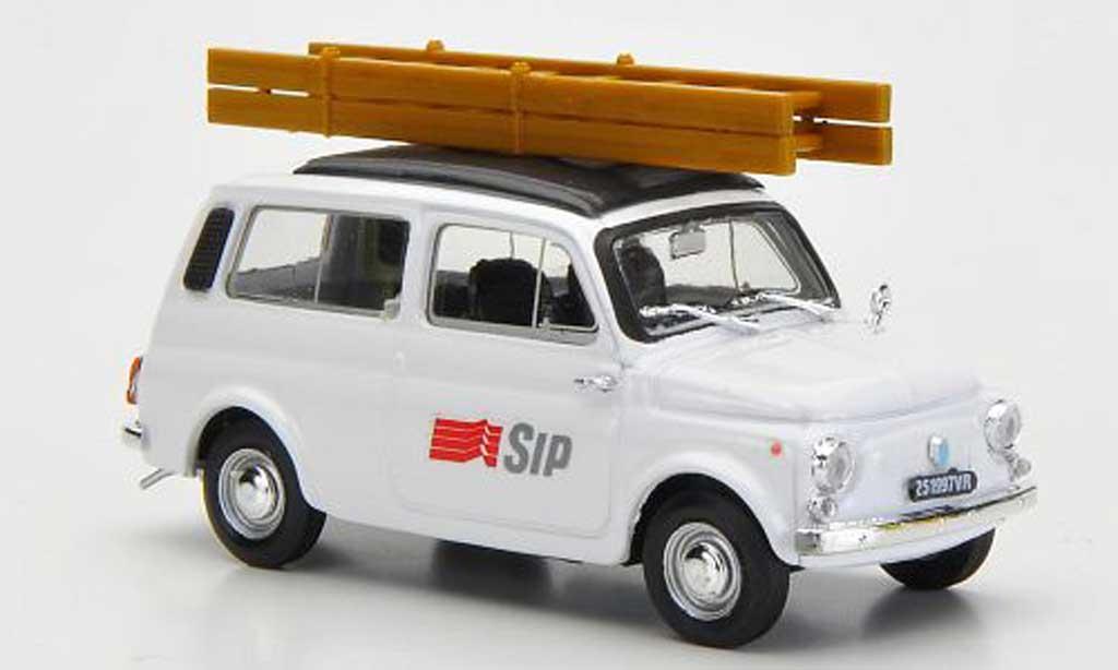 Autobianchi 1/43 Brumm 500 Giardiniera SIP - Societa Telefonico Italiana 1970 miniature
