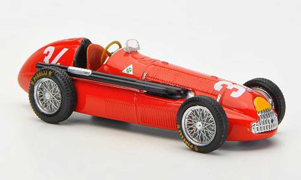 Alfa Romeo 158 1/43 Brumm No.34 J.M.Fangio GP Monaco 1950 diecast model cars
