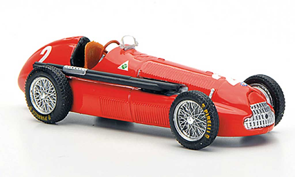 Alfa Romeo 158 1/43 Brumm No.2 N.Farina GP Gro?britannien 1950 miniature