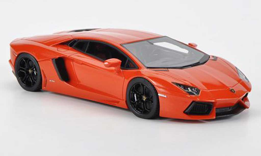Lamborghini Aventador LP700-4 1/43 Fujimi orange miniature