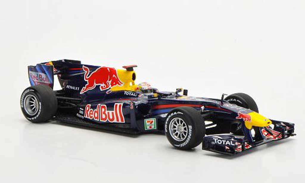 renault f1 2010 miniature red bull rb6 no 5 gp japan minichamps 1 43 voiture. Black Bedroom Furniture Sets. Home Design Ideas