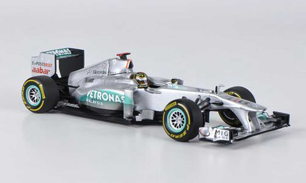 Mercedes F1 2011 1/43 Minichamps MGP W02 No.7 Petronas M.Schumacher GP Belgien miniature