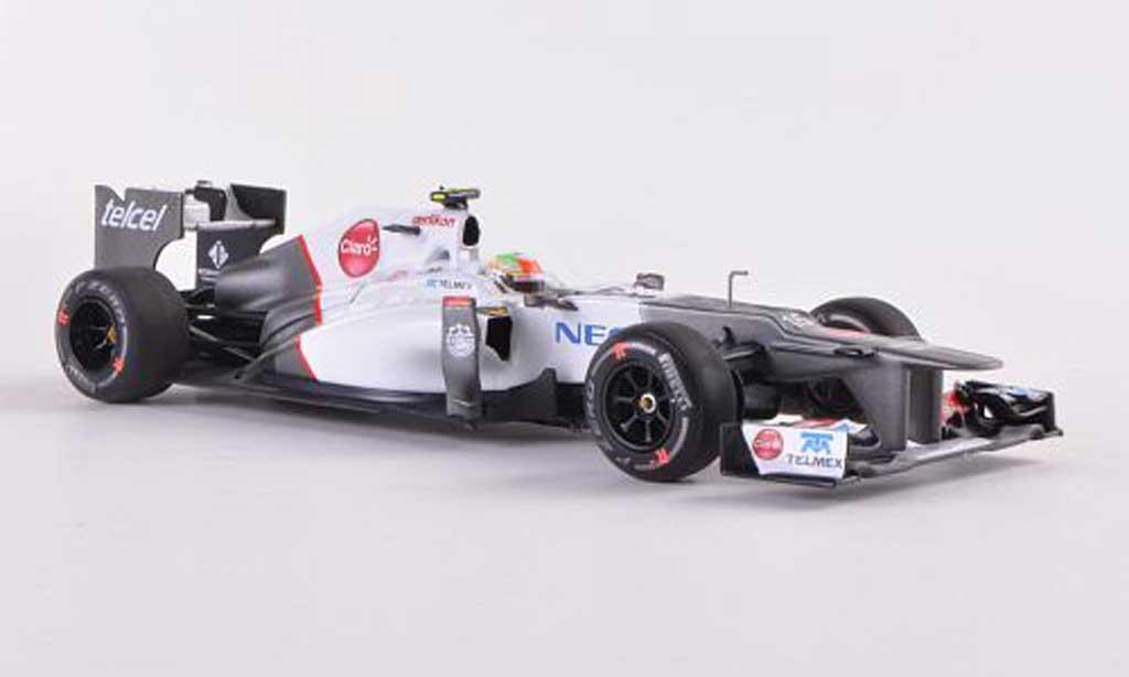 Sauber F1 2012 1/43 Minichamps C31-Ferrari No.15 S.Perez GP Malaysia diecast