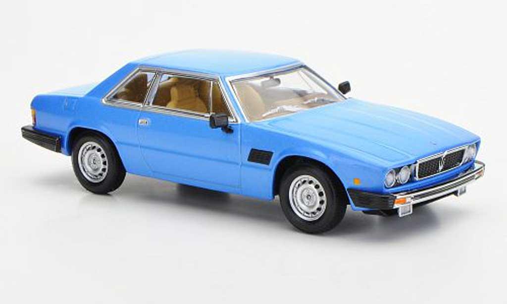 Maserati Kyalami 1/43 Minichamps bleu 1982 miniature