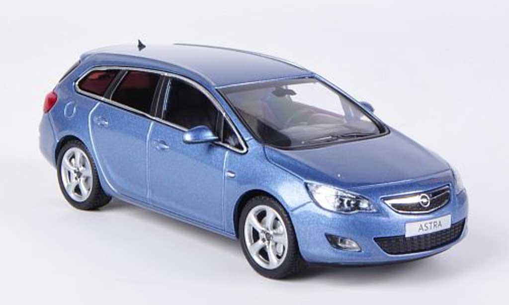 Opel Astra 1/43 Minichamps J Sports Tourer grisebleu 2010