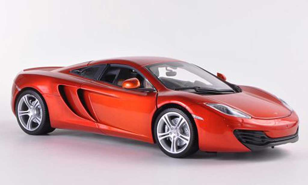 McLaren F1 2011 1/18 Minichamps 2011 MP4-12C orange miniature