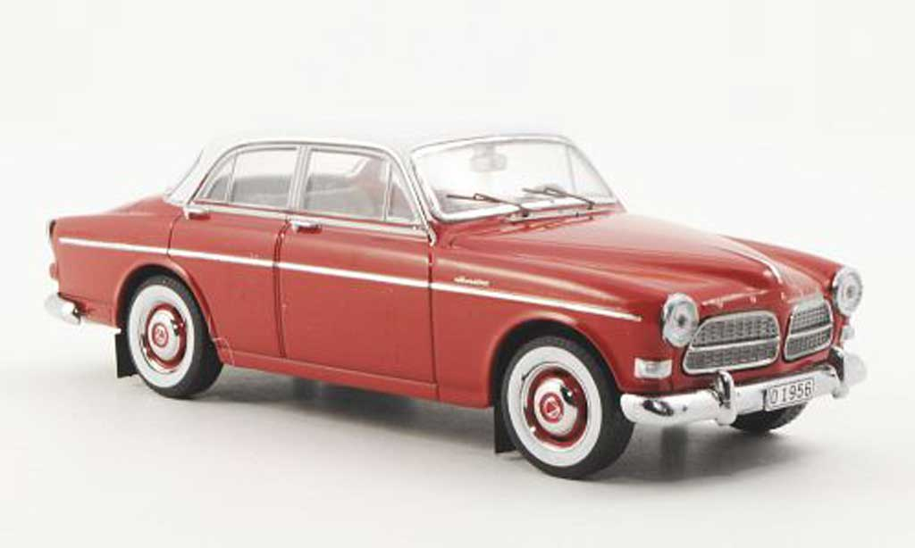 Volvo 120 1/43 Premium X Amazon rouge/blanche 1956 miniature