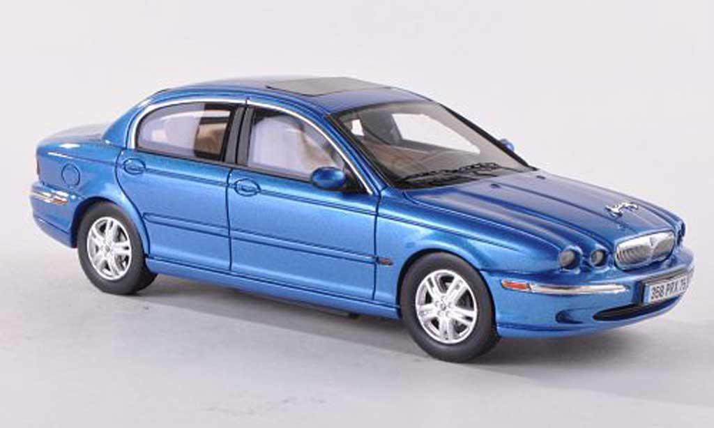 Jaguar X-Type 1/43 Premium X clair-bleu LHD 2004 miniature