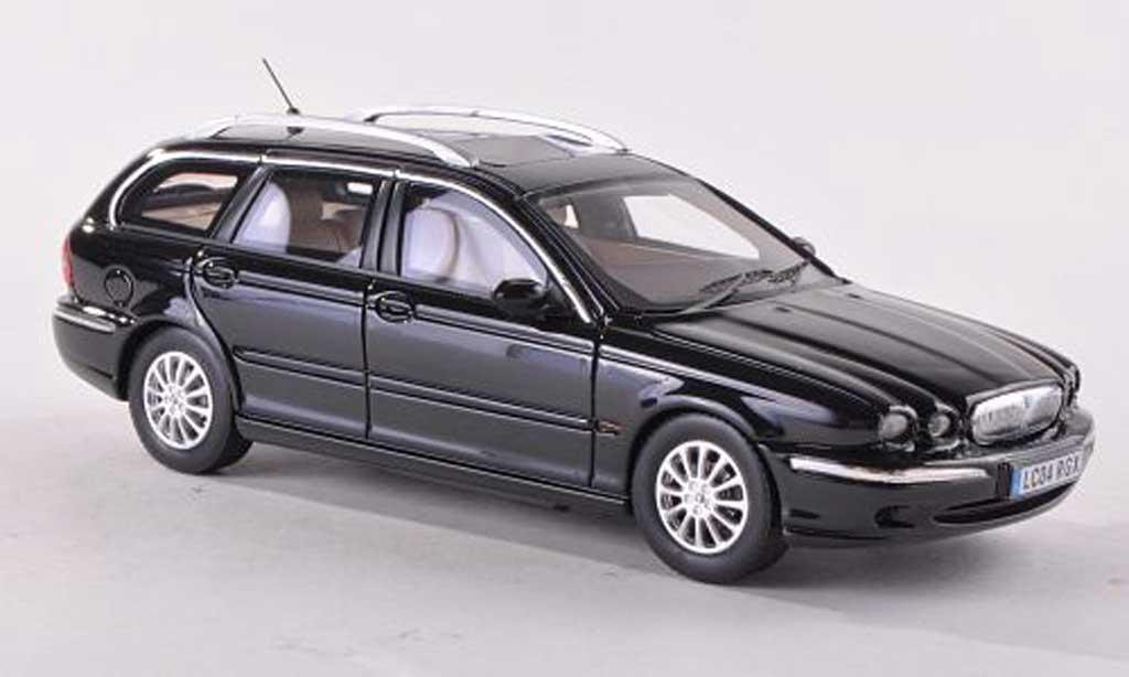 Jaguar X-Type 1/43 Premium X Wagon noire RHD 2004 miniature