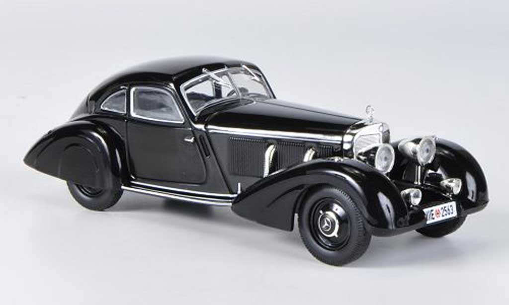 Mercedes 500 1/43 WhiteBox Autobahn-Kurier noire 1935 miniature