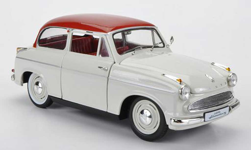 Lloyd Alexander 1/18 Revell TS blanche/rouge Sondermodell MCW limitierte Auflage 1000 Stuck miniature