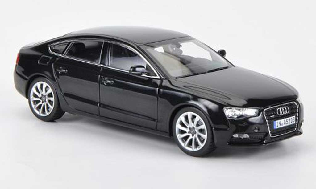 audi a5 sportback schwarz 2011 norev modellauto 1 43. Black Bedroom Furniture Sets. Home Design Ideas