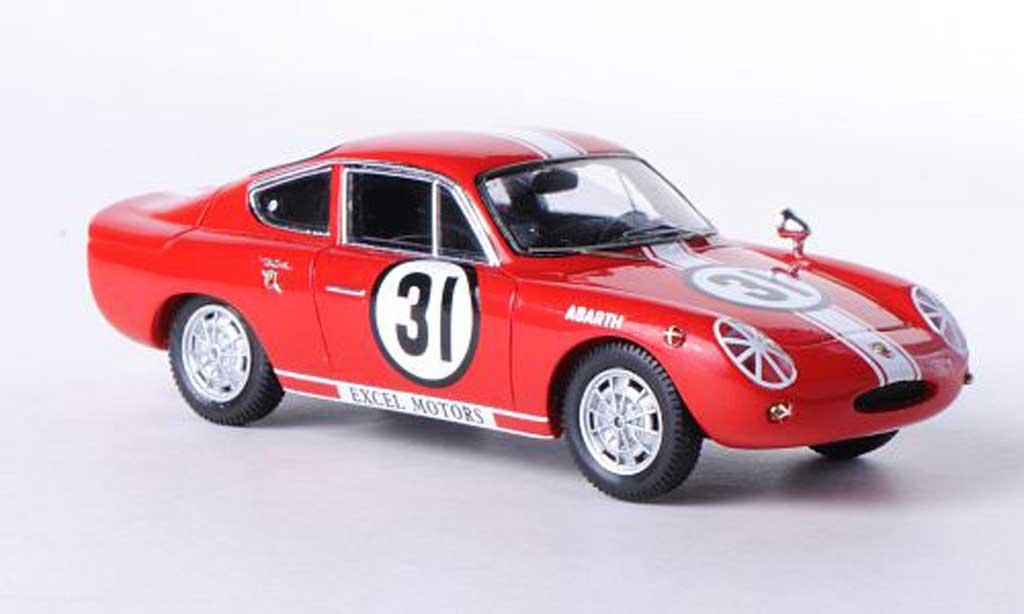 Abarth 1000 Bialbero 1/43 Ebbro No.31 Funabashi CCC Race 1965 miniature