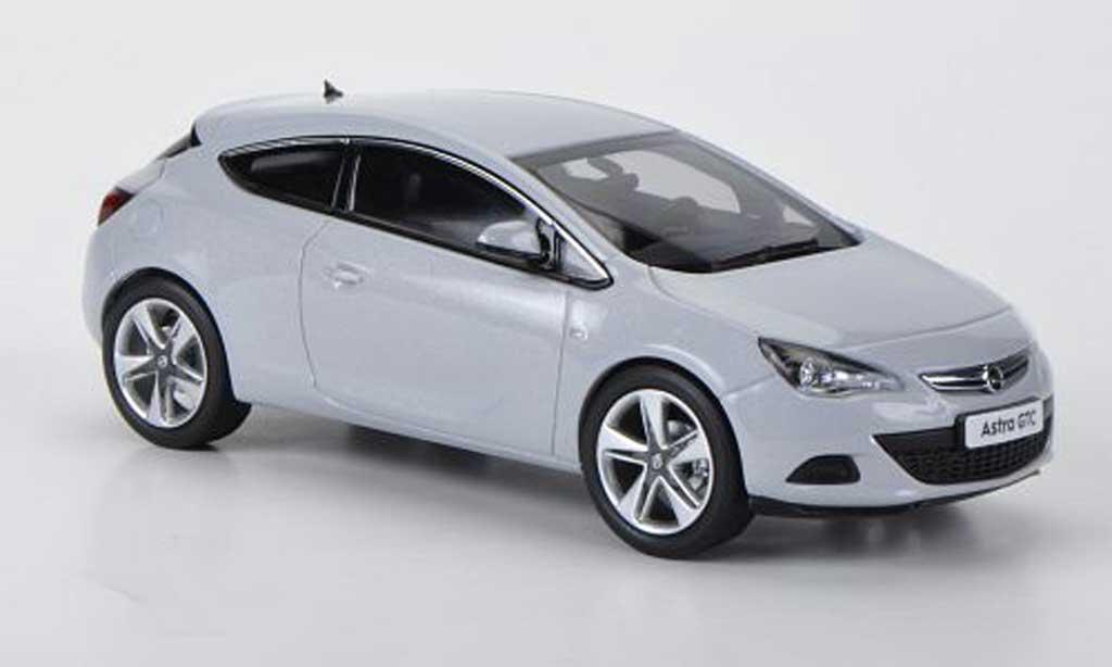 Opel Astra 1/43 MotorArt J GTC grise 2012 miniature