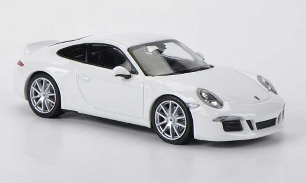 Porsche 991 S 1/43 Minichamps Carrera portDesign white 2012 diecast model cars