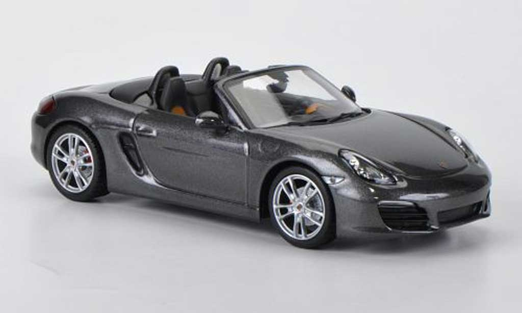 Porsche Boxster 1/43 Minichamps S (987) dkl.grey 2012 diecast model cars