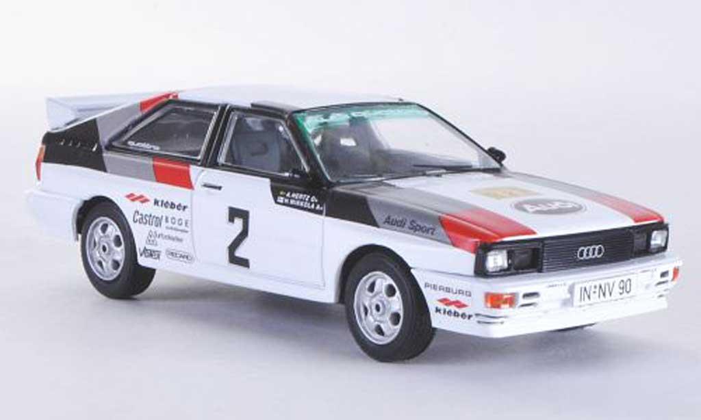 Audi Quattro 1/43 Vanguards No.2 H.Mikkola / A.Hertz Rally Schweden 1981 miniature