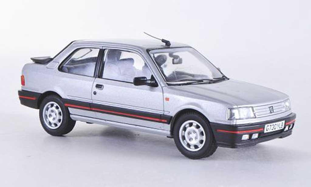 Peugeot 309 GTI 1/43 Vanguards Mk1 grau RHD modellautos