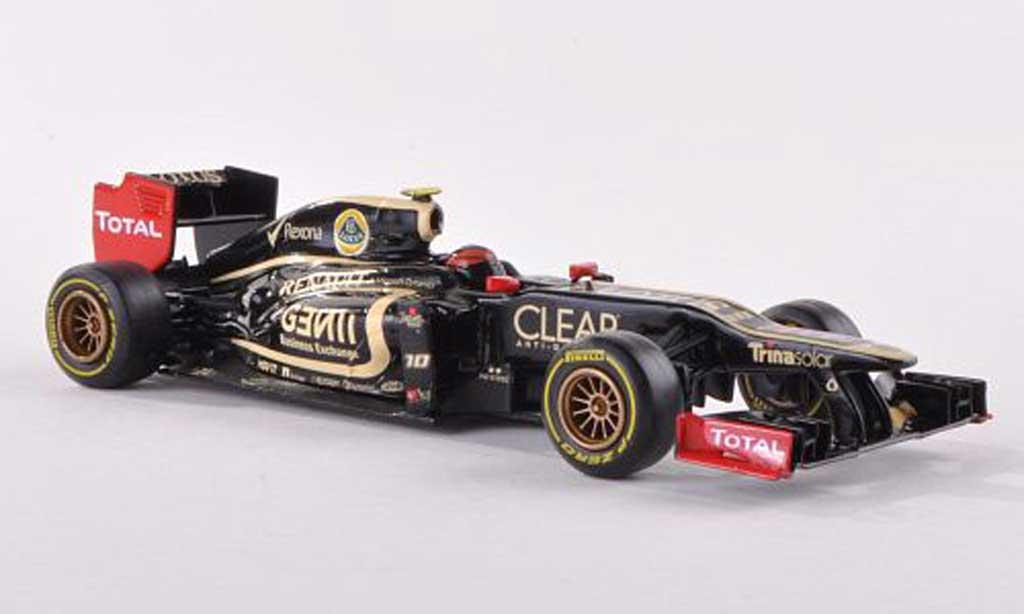 Lotus F1 1/43 Corgi Renault E20 No.10 R.Grosjean F1 Saison  2012 miniature