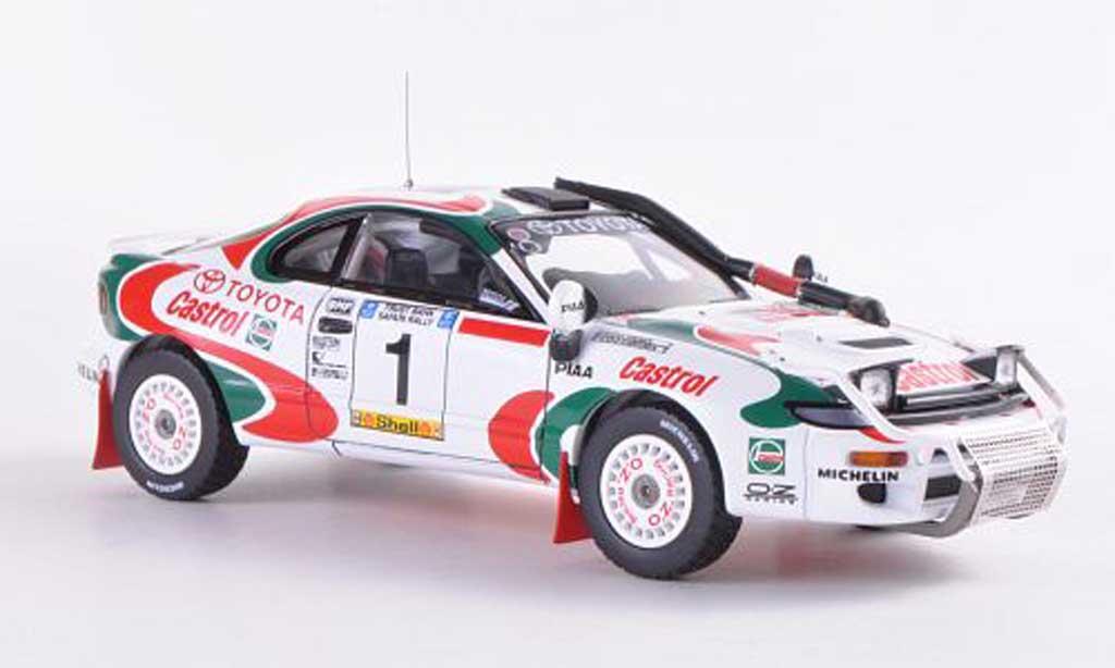 Toyota Celica Turbo 1/43 HPI 4WD No.1 Castrol J.Kankkunen / J.Pironen Safari Rally  1993 miniature