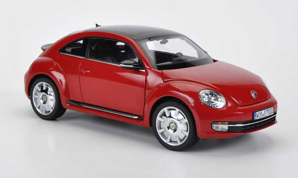 Volkswagen Beetle 1/18 Kyosho red 2011 diecast model cars