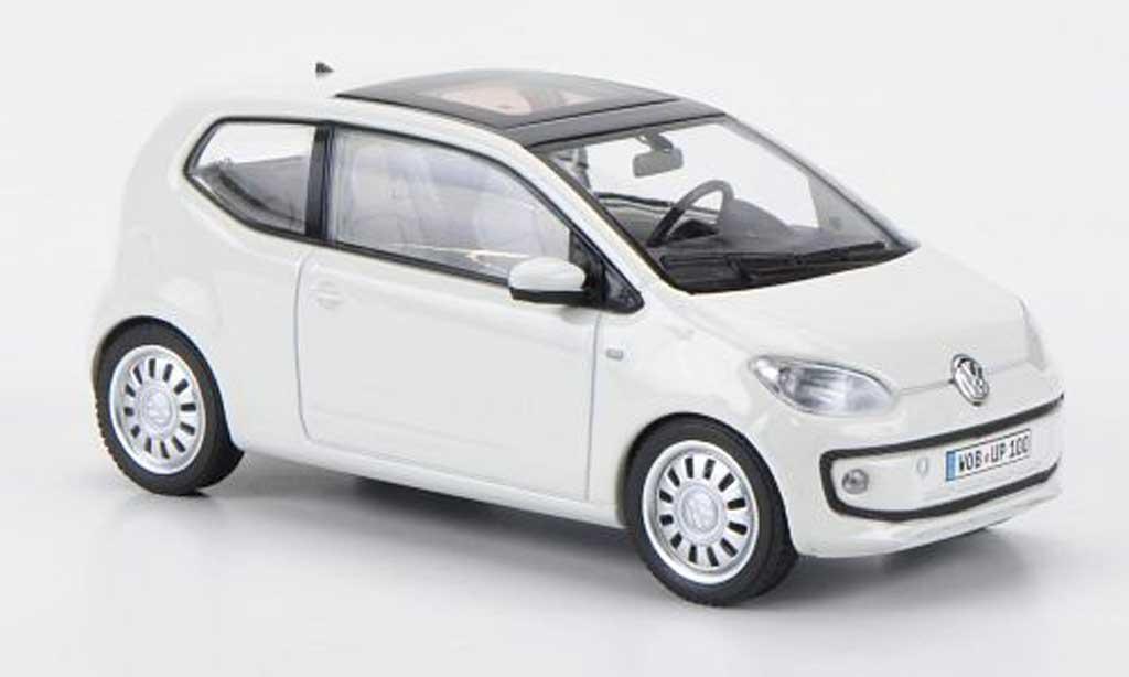 volkswagen up 2011 miniature blanche schuco 1 43. Black Bedroom Furniture Sets. Home Design Ideas