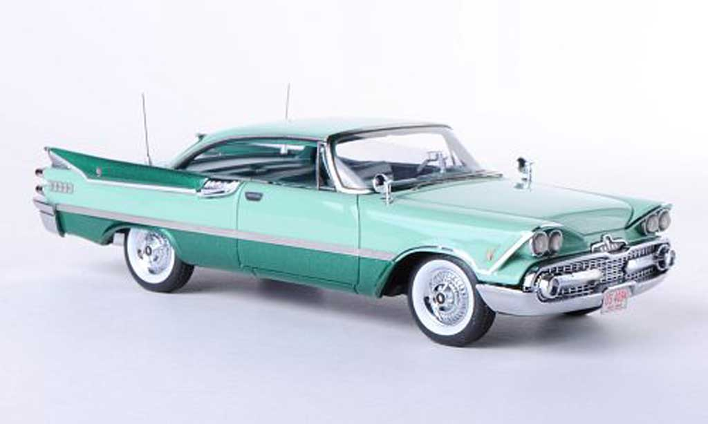 Dodge Custom Royal Lancer 1/43 Neo 2-Door Hardtop Coupe grun/grun 1959 miniature