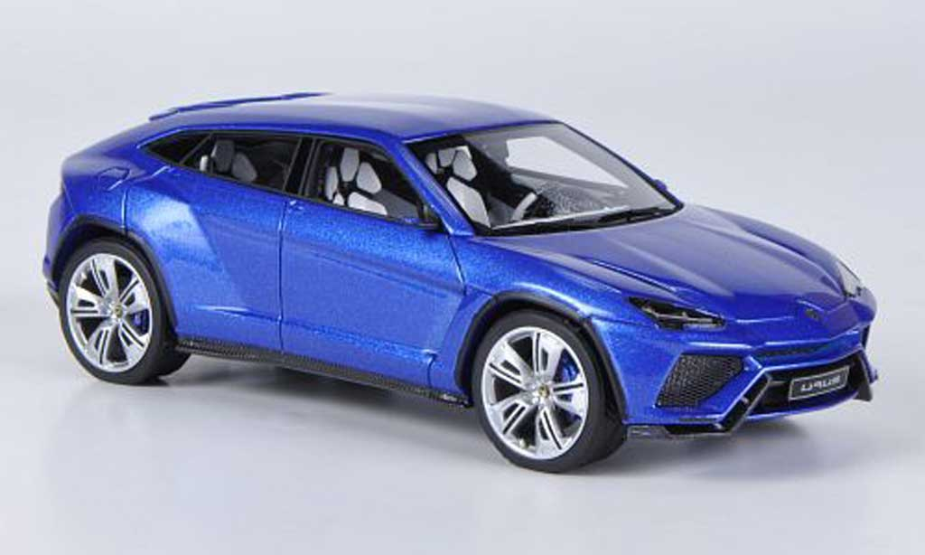 Lamborghini Urus 1/43 Look Smart bleu 2012 miniature