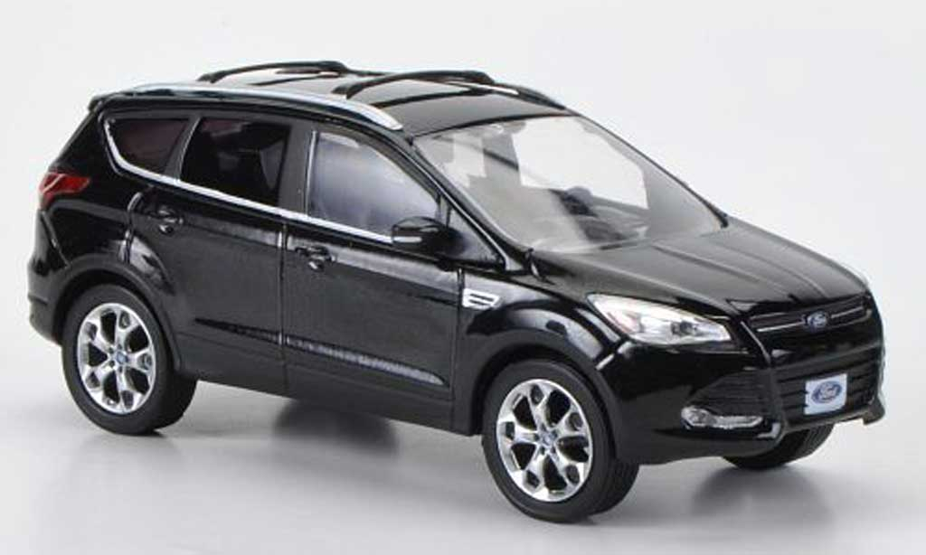 Ford Escape 1/43 Greenlight (Kuga II) noire 2012 miniature