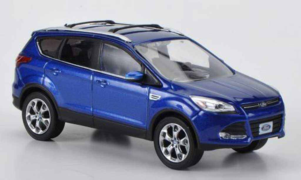 Ford Escape 1/43 Greenlight (Kuga II) bleu 2012 miniature