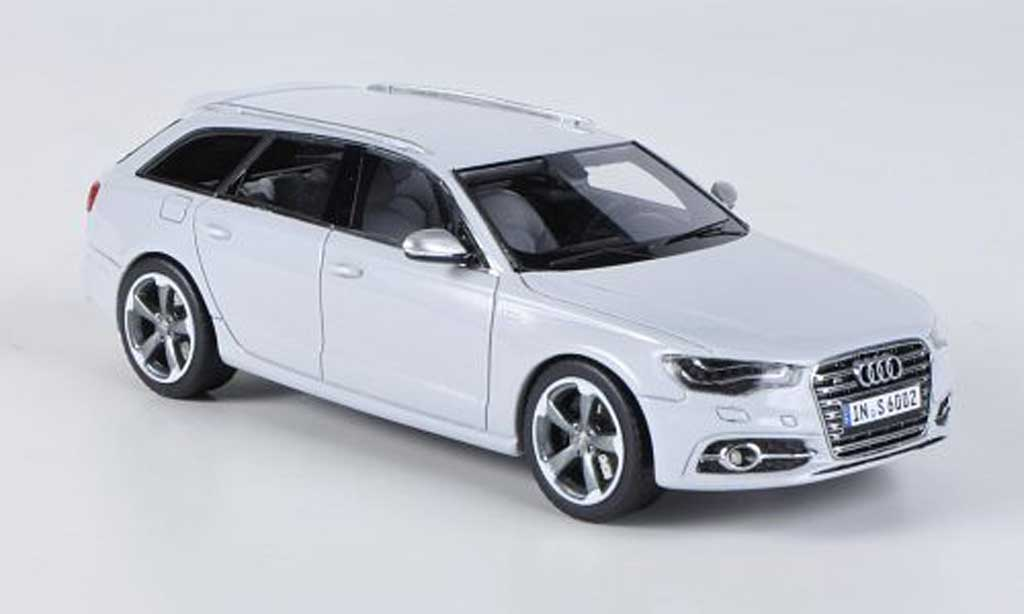 Audi S6 1/43 Schuco Avant grise miniature