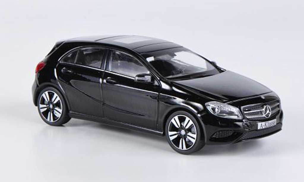 mercedes classe a miniature w176 noire 2012 schuco 1 43 voiture. Black Bedroom Furniture Sets. Home Design Ideas