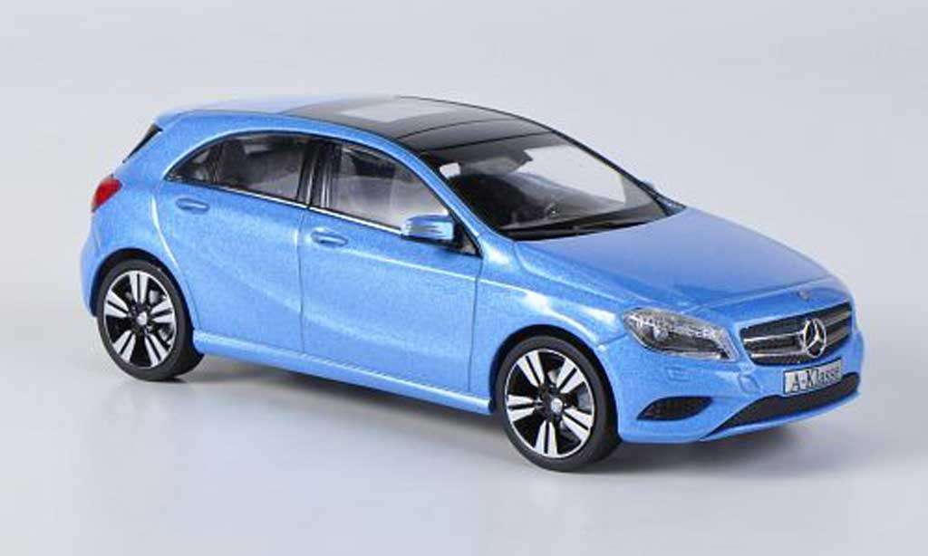 mercedes classe a miniature w176 bleu 2012 schuco 1 43 voiture. Black Bedroom Furniture Sets. Home Design Ideas