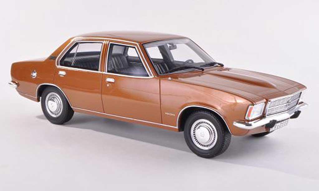 Opel Rekord 1/43 BoS Models D 2100D noire-dore limitee edition 1.000 1973 miniature
