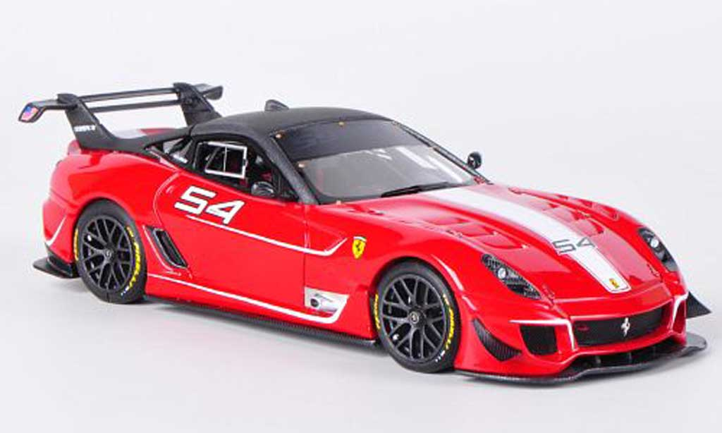 Ferrari 599 XX 1/43 Look Smart Evo No.54 M.Luzich diecast model cars