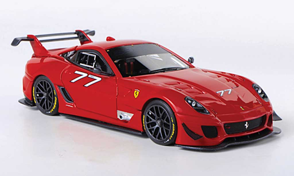 Ferrari 599 XX 1/43 Look Smart Evo No.77 diecast model cars