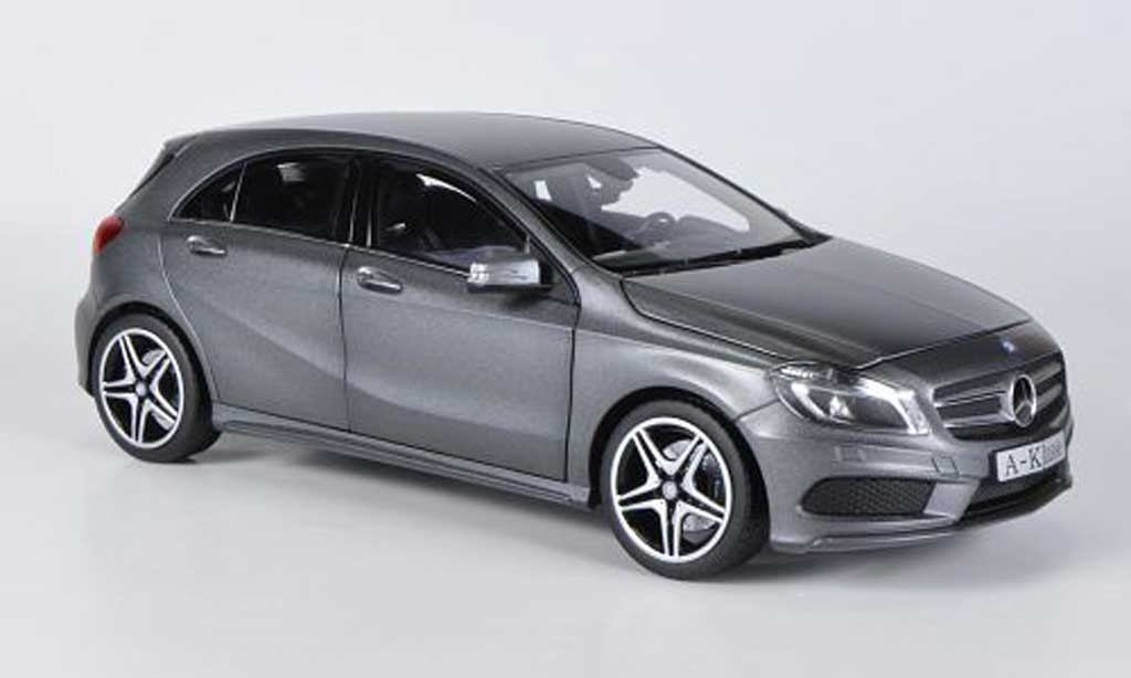 mercedes classe a miniature w176 grise 2012 norev 1 18 voiture. Black Bedroom Furniture Sets. Home Design Ideas
