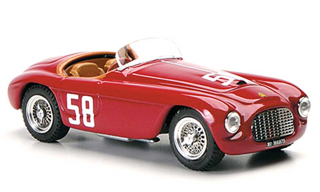 Ferrari 212 1951 1/43 Art Model MM No.58 Stagnoli / Restelli Targa Florio miniature