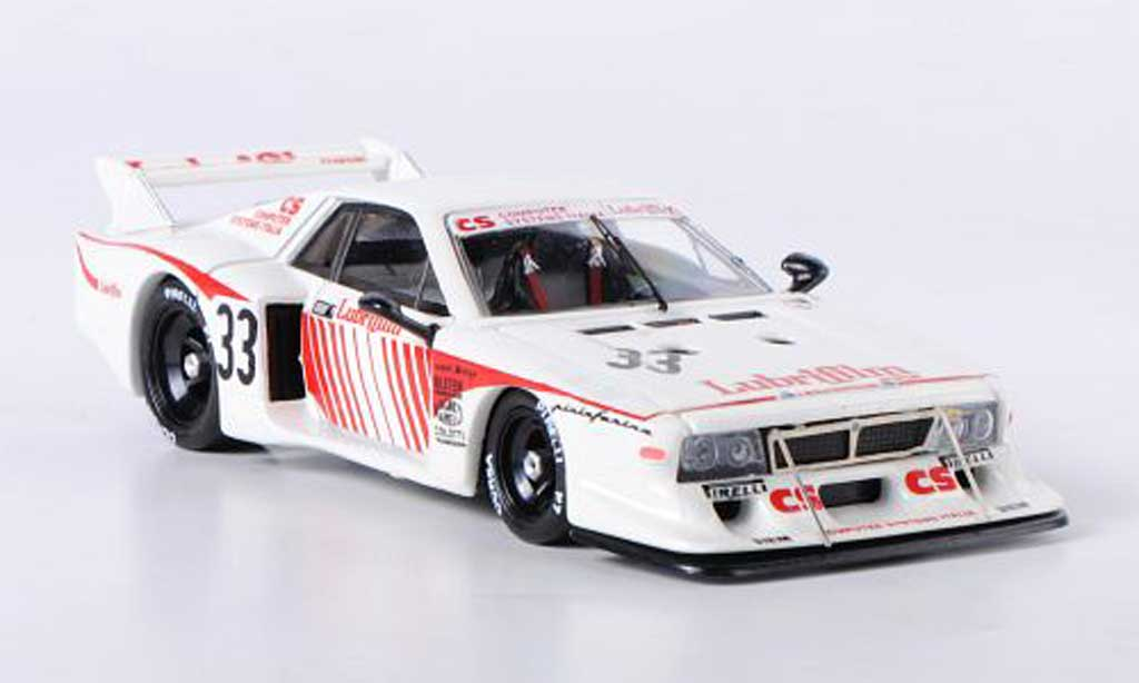 Lancia Beta 1/43 Best No.33 Lubrifilm Monza 1981 Piante/Schoen/Fiotto miniature