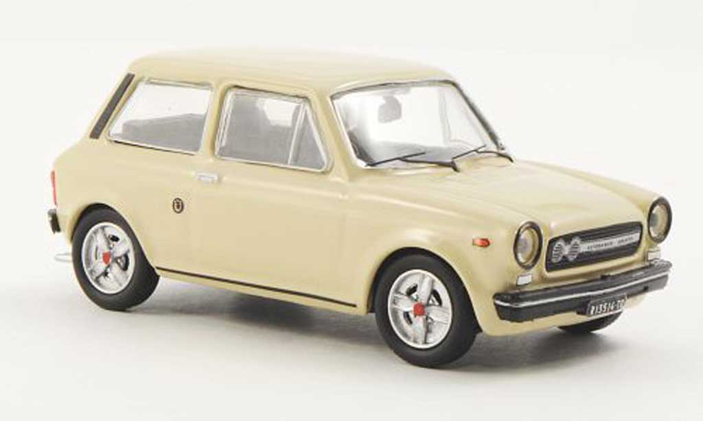 Autobianchi A112 1/43 Best Abarth beige 1973 miniature