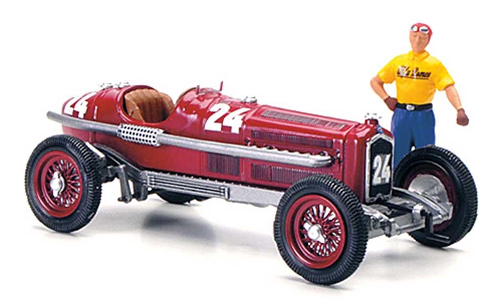 Alfa Romeo P3 1/43 Rio No.24 T.Nuvolari GP Monza 1932 miniature