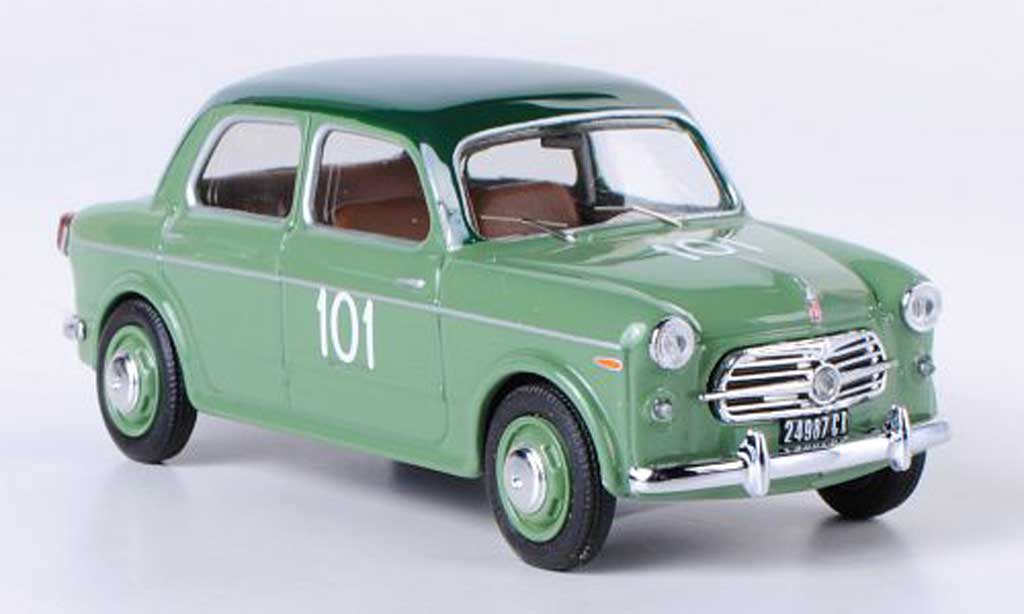 Fiat 1100 1954 1/43 Rio TV No.101 Milli Miglia Alquanti/Caporali miniature
