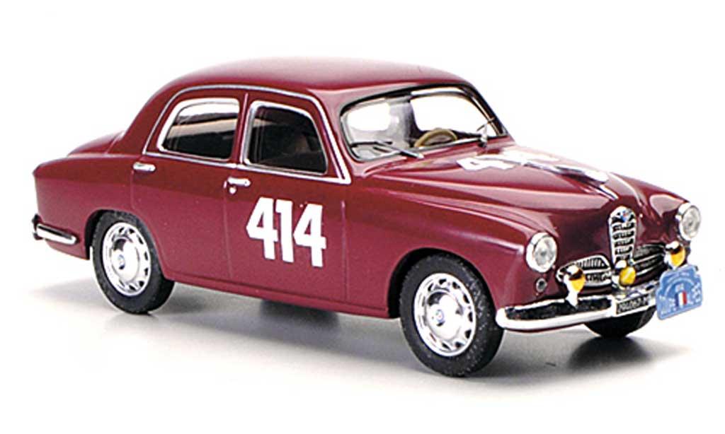 Alfa Romeo 1900 1/43 M4 Berlina No.414 Tavola / Marini Coppa delle Alpi 1956 miniature