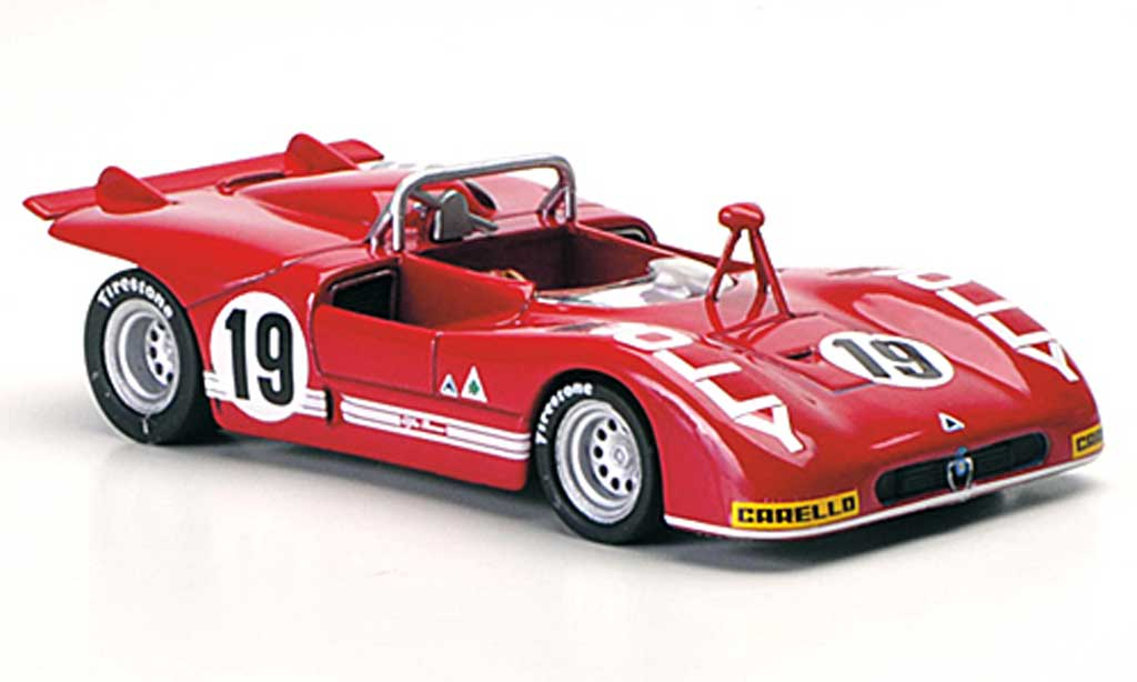 Alfa Romeo 33.3 1972 1/43 M4 No.19 Zeccoli / Alberti Interlagos miniature