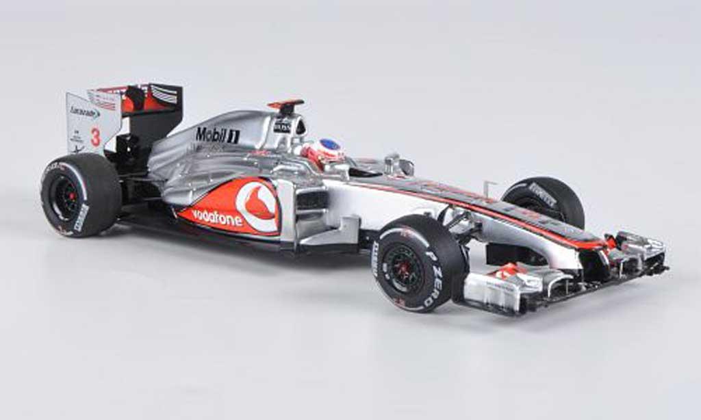 Mercedes F1 2012 1/43 Minichamps McLaren MP4-27 No.3 J.Button GP Australien miniature