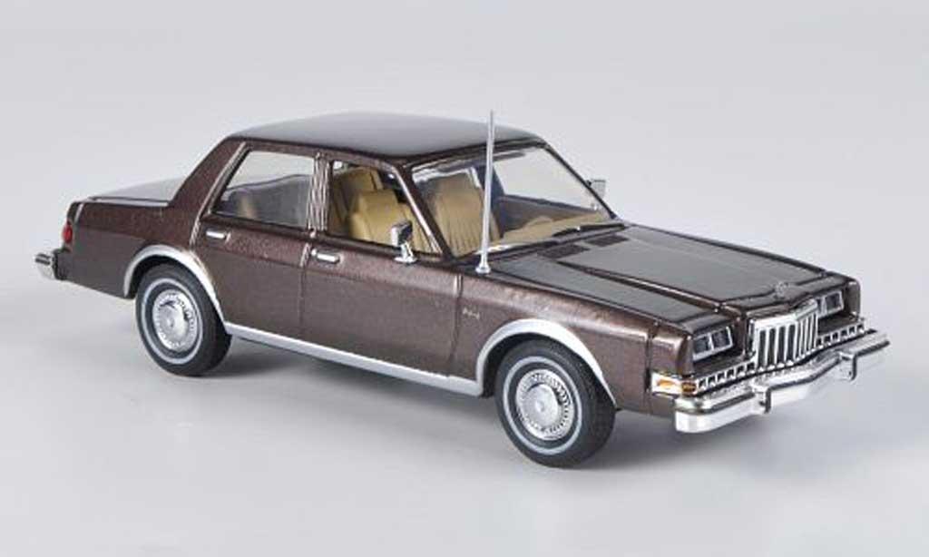 Dodge Diplomat 1/43 American Heritage Models marron 1985 miniature