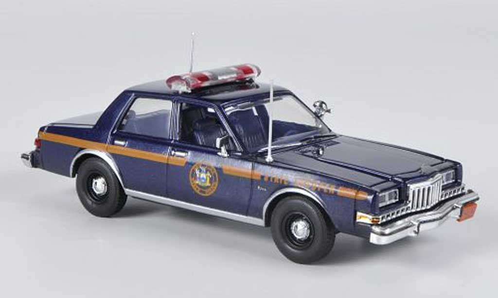 Dodge Diplomat 1/43 First Response New York State Trooper 1985 miniature