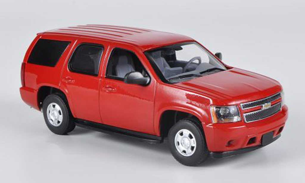 Chevrolet Tahoe 1/43 First Response PPV rouge 2011 miniature