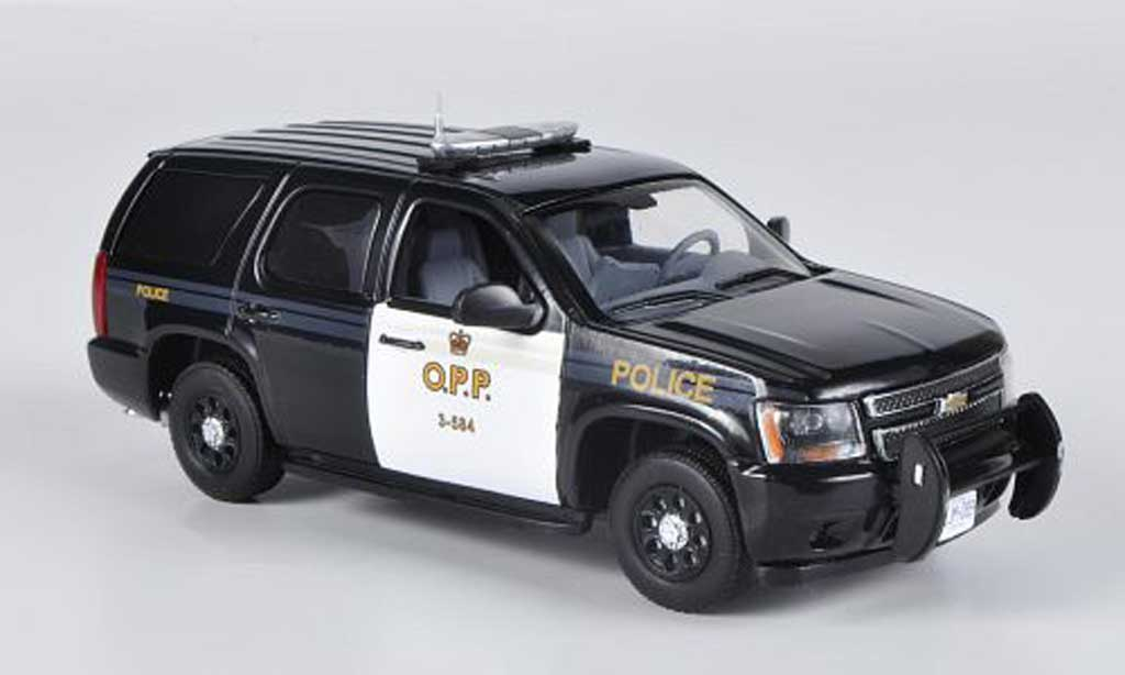 Chevrolet Tahoe 1/43 First Response O.P.P. - Ontario Provencial Police 2011 miniature